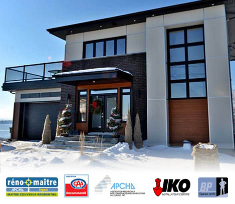 Constructions cyr toiture de maison agrandissement for Agrandissement maison quebec
