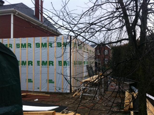 Ajout de garage une maison qu bec par constructions cyr entrepreneur c - Prix construction garage ...