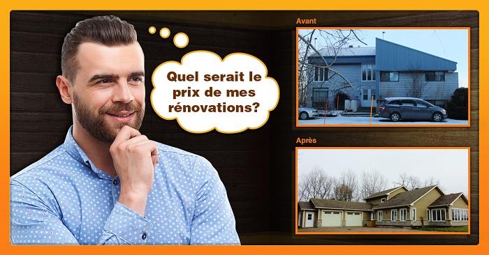 Quel prix pour des rénovations à Québec?