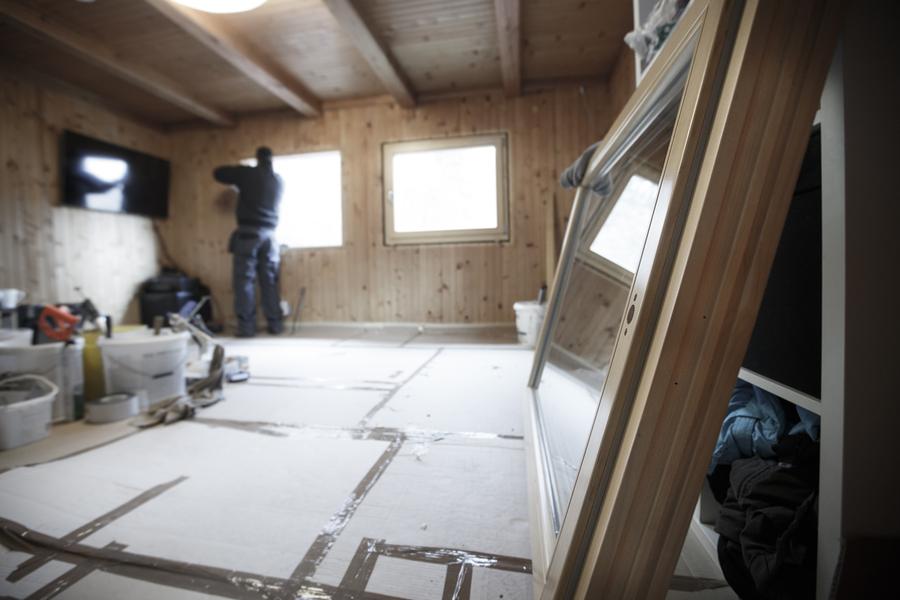 agrandissement d'un bungalow