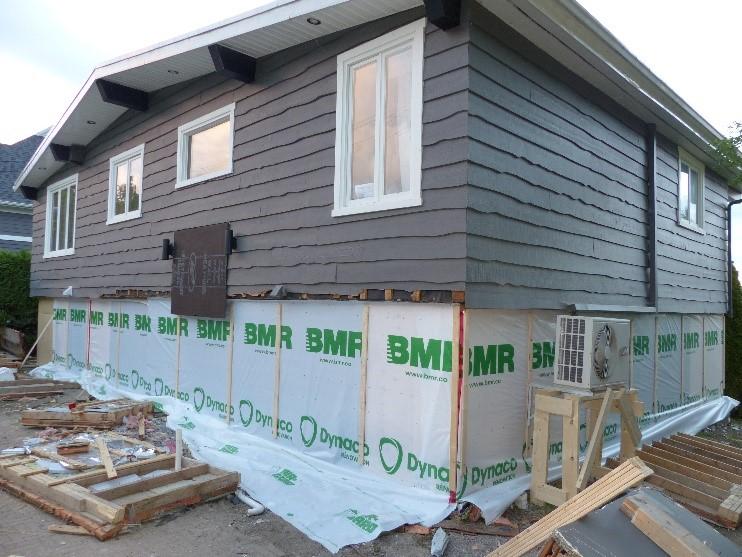 levage et travaux de fondation maison quebec