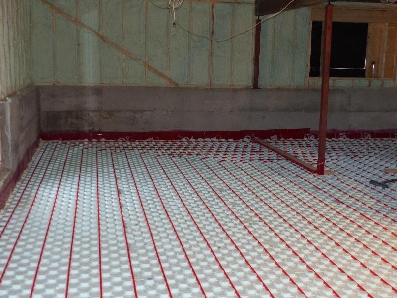 plancher chauffant chauffage radiant électrique