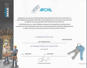 membre apchq constructions cyr