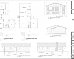 3 exemple plan agrandissement maison elevations
