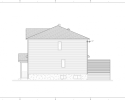 elevation laterale ajout etage