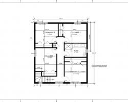 4 plan deuxieme etage