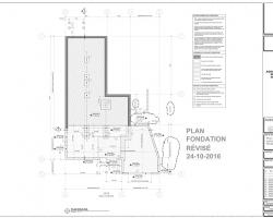 6 exemple plan agrandissement sur fondation