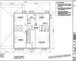 Exemples de plans d 39 agrandissement de maison ajout d for Agrandissement maison plan